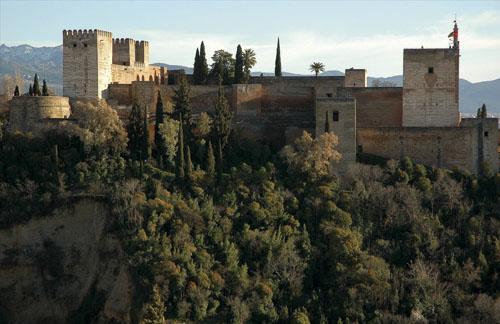 Alcazaba_Alhambra._Granada_Spain