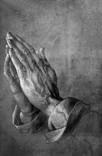 Bacon_Hands praying Albrecht Durer