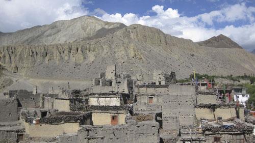 Kagbeni, granično selo prema Gornjem Mustangu.