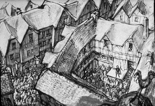 Inn's Courts - dvorišta gostionica u kojima su se na početku odigravale kazališne predstave.