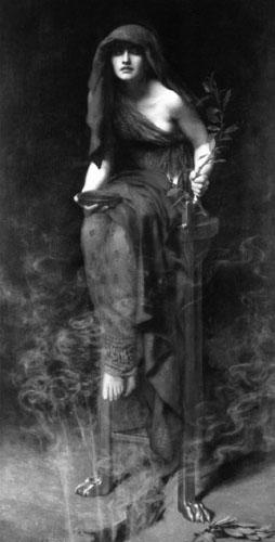 John Collier Priestess of Delphi_CB