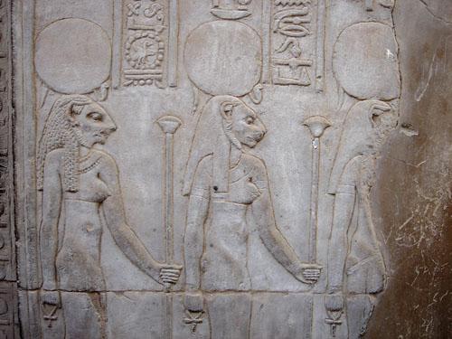 Sekhmet, božica sudbine i zadovoljene pravde.