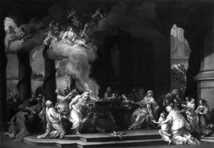 Alessandro Marchesini, Posvećenje vestalske djevice