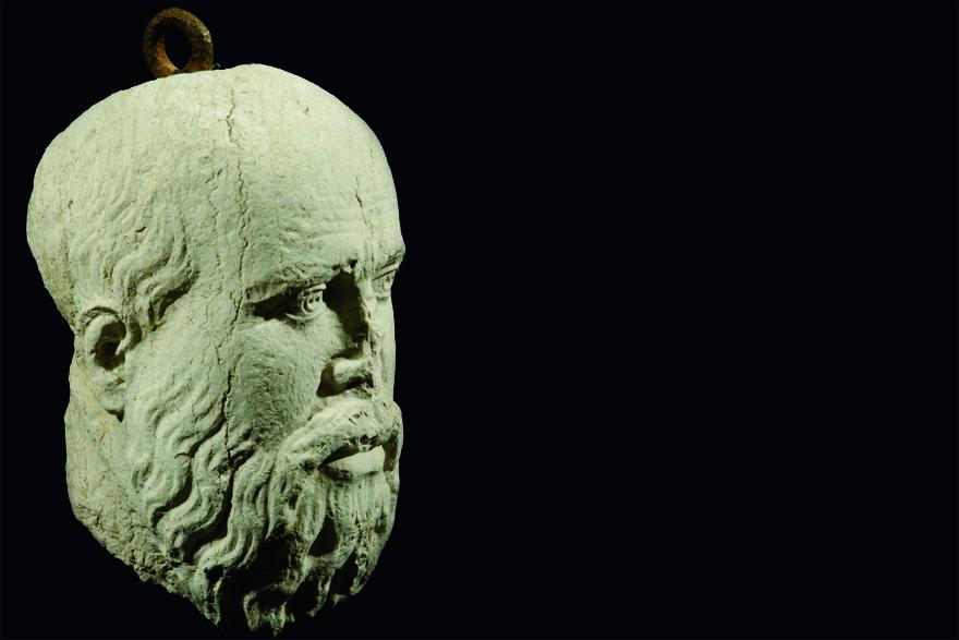 Sokratova glava, poluprofil (foto: T.Seser)