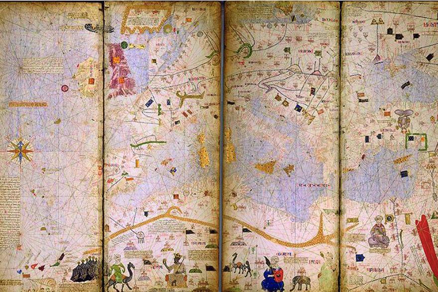 Katalonski atlas - Mediteran
