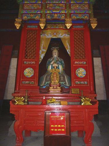 MENCIJE_Temple of Mencius-Yasheng Hall-inside-P1050921