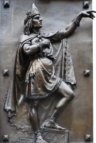 Netzahualcóyotl, Izgladnjeli kojot (1402. – 1470.). Veliki pjesnik, mudrac i vladar Texcoca, jednog od najvažnijih kulturnih žarišta Astečkog carstva.