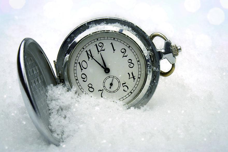 Sat u snijegu