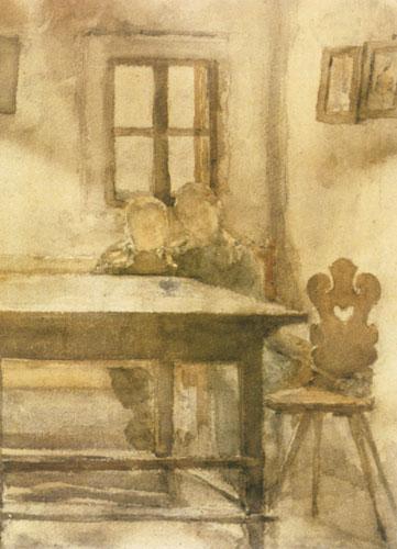 Slava Raškaj, Djeca u seljačkoj sobi
