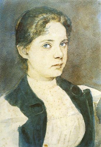 Slava Raškaj, Autoportret