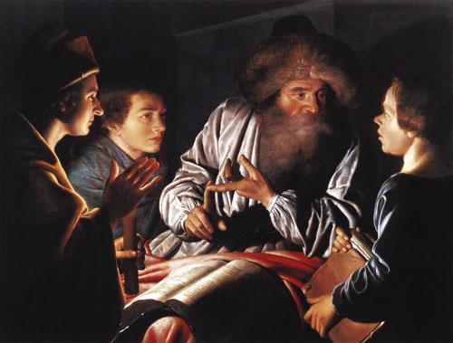 Filozof i ucenici