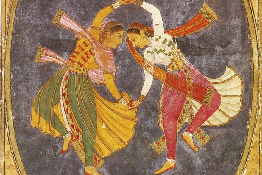 INDIJSKA POEZIJA_Kathak Dancers