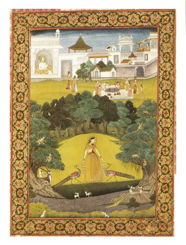 INDIJSKA POEZIJA_Lady holding necklaces of pearls