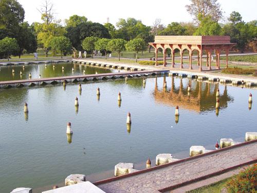 Vrtovi Shalimar u Lahoreu, Pakistan.