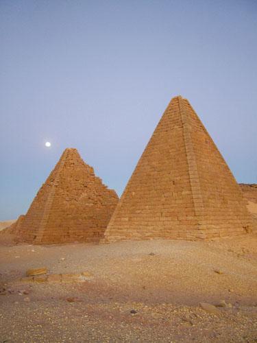 Piramide iz Jebel Barkale.