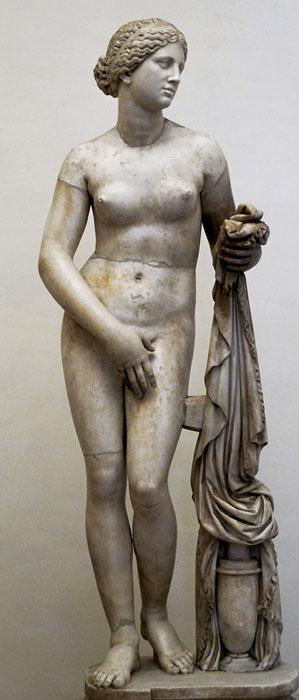 Knidska Afrodita, rimska kopija prema Praksitelovom originalu