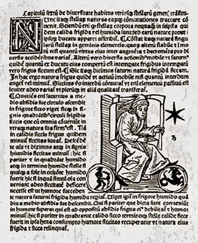 Velik utjecaj na formiranje Hermanovih prirodofilozofskih i prirodoznanstvenih gledišta imalo je djelo Introductiorum maius in astronomiam (Opći uvod u astronomiju) glasovitog astronoma i astrologa iz Bagdada Abu Ma'shara, arapskog znanstvenika iz IX. st.