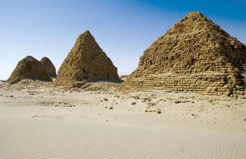 Piramide u predjelu Nuri.