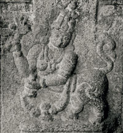 Purušamriga iz Melukotea, svetog mjesta u južnoj Indiji