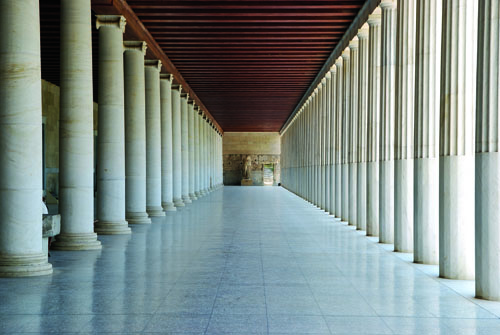 RETORIKA_Inside the Stoa of Attalus in Athens
