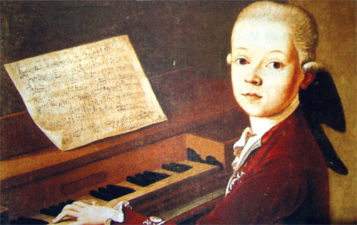 Beethoven kada je imao osam godina