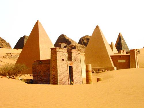 Piramide u predjelu Meroe.