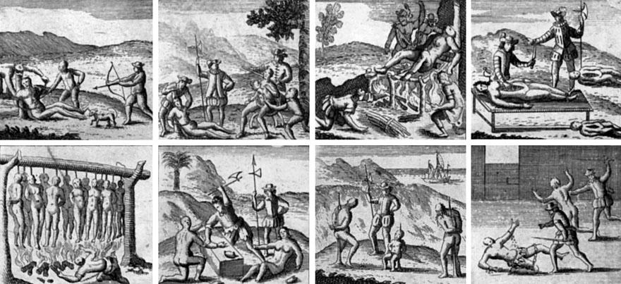 Kolonijalni sustav prisilnog rada prema kojem su starosjedioci bili prisiljavani dio godine raditi za beznačajno male ili nikakve plaće na španjolskim farmama, u rudnicima, manufakturama i na javnim projektima.