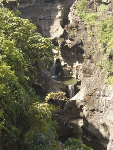 Ajanta - The waterfall