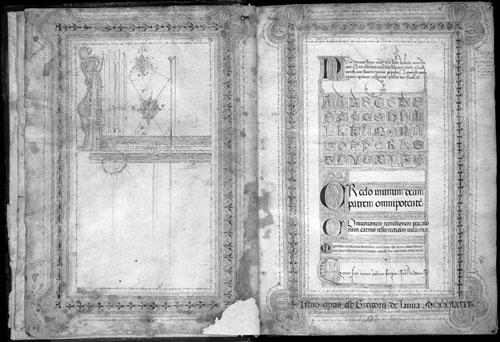 Srednjovjekovni prijepis Utjehe filozofije.