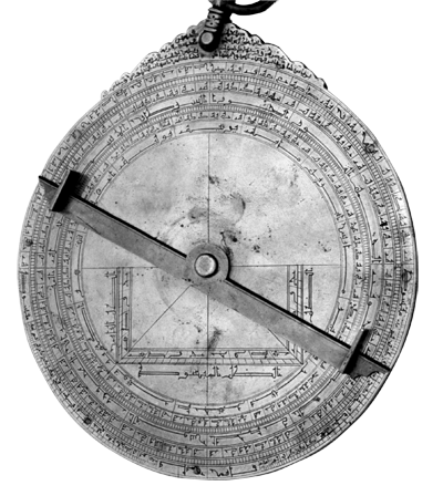 HAJAM_The back of an Islamic Astrolabe