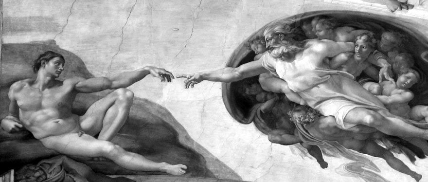 HUMANIZAM_Michelangelo - The Creation of Man