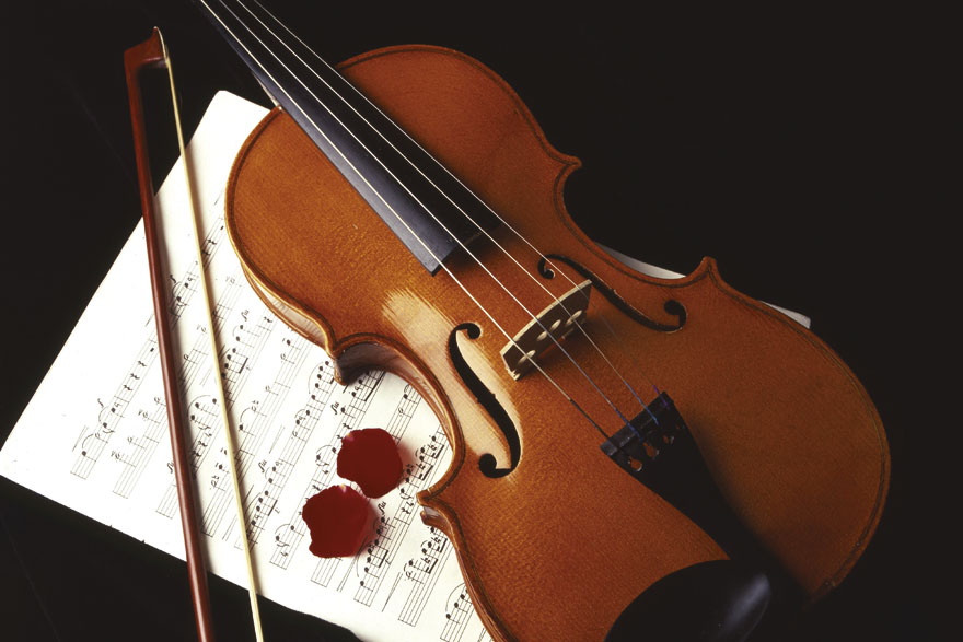 Violina i note