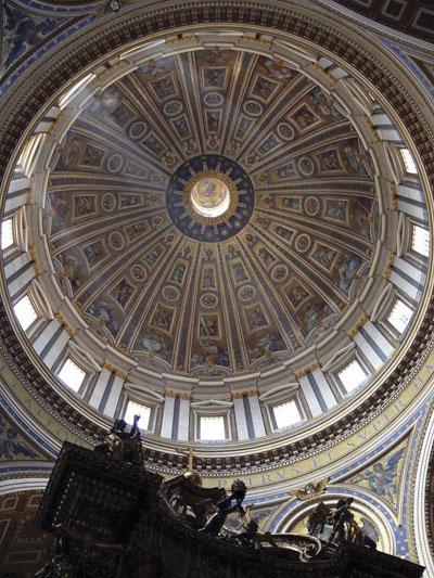 ZANIMLJIVOST_Pogled na kupolu-iznutra