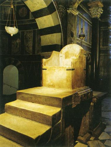 Carsko prijestolje, Palatinska kapela Aachen