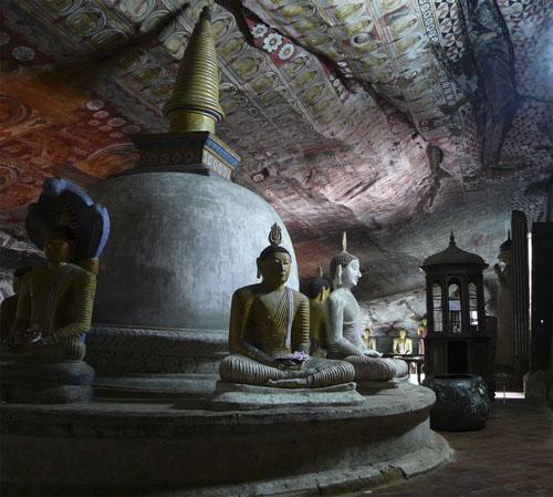 Špiljski hram Dambulla, Šri Lanka