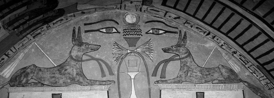 Detalj iz Senedžemove grobnice, Deir el-Medina, Zapadna Teba.