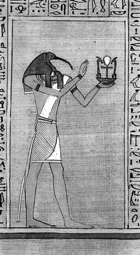Egipatski bog Thot.