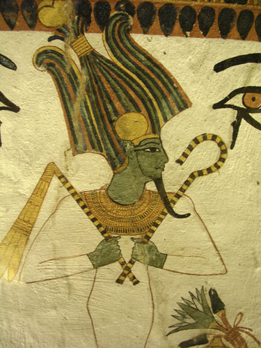 Bog Oziris, Senedžemova grobnica,  Deir el.Medina, Zapada Teba