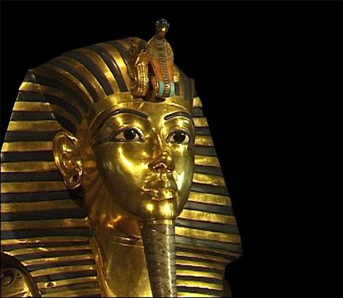 Posmrtna maska faraona Tutankhamona.