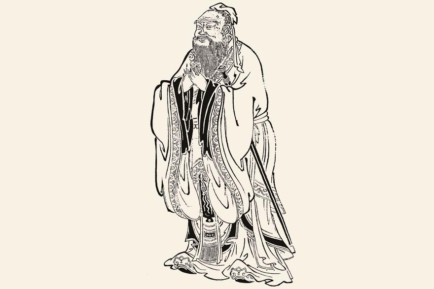 Konfucije_crtez