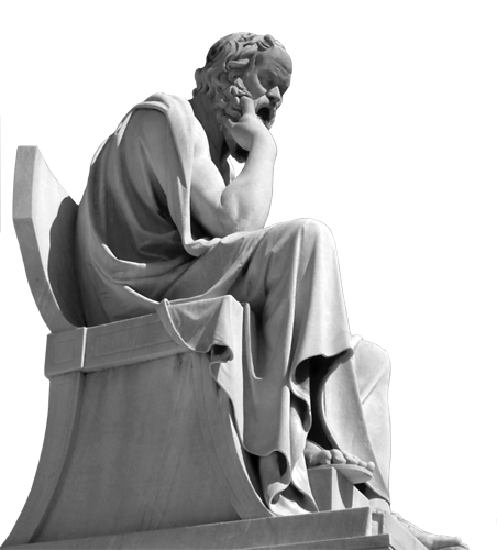Sokrat (469. - 399. g. pr.Kr.) - Platonov učitelj.