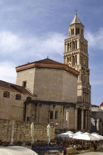 Splitska katedrala i njen zvonik.
