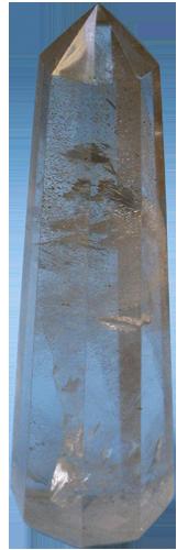 Kao posljedica pravilne unutrašnje građe minerala, u pogodnim se uvjetima javlja i njihov pravilan vanjski oblik, kristalni oblik ili jednostavno kristal. Pravilan oblik brušenih dragulja nije prirodan oblik kristala jer su oblikovani čovjekovom rukom.