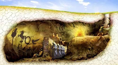 Platonov mit o pećini