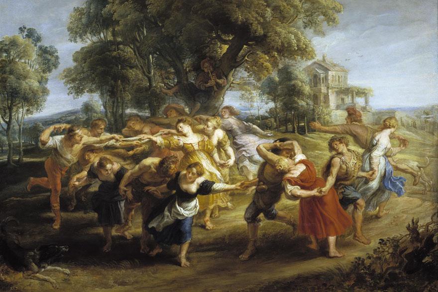 rubens-danza-de-aldeanos-1636-1640