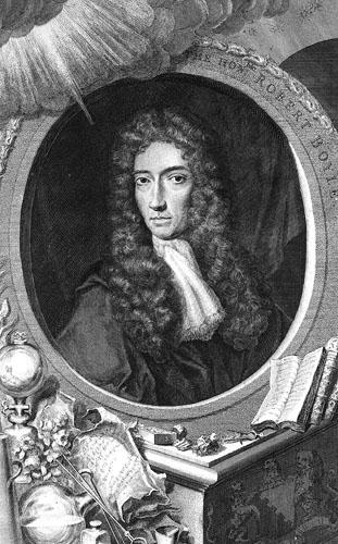 Robert Boyle, čuveni kemičar i Newtonov mentor za područje alkemije.