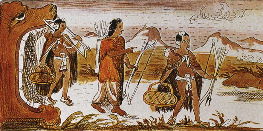 Izlazak Azteka