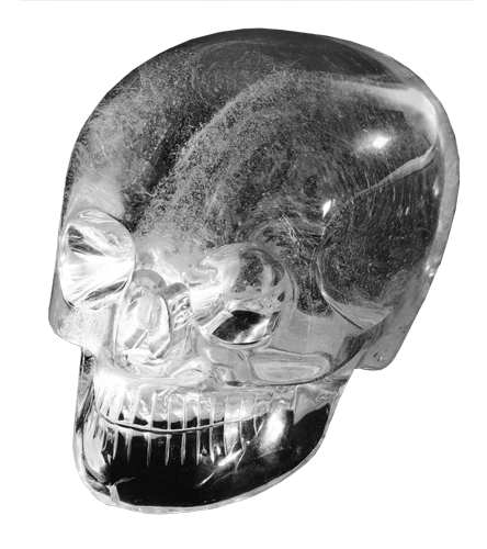 Mitchell-Hedgesova kristalna lubanja.