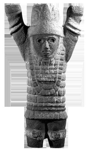 Figurica Atlanta pronađena u jednom od svetišta u Tuli.