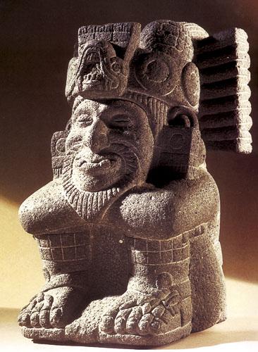 Ometecuhtli (Gospodar našeg tijela) Muški aspekt dvojnog boga Ometeotla